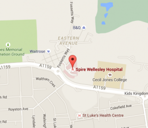 spire-wellesley-hopsital-map